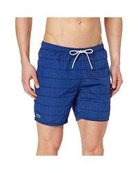 Short Homme Lacoste pour homme en coloris Blue