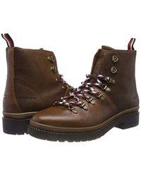 Elevated Outdoor Hiking Boot, Botas Militar para Hombre Tommy Hilfiger de hombre de color Brown