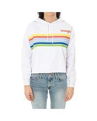 Wrangler White Knit Woman Rainbow Knit W8113p412