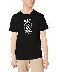 Nike Black M Df Surf And Enjoy Tee Ss T-shirt for men