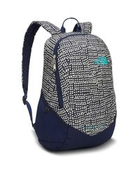 The North Face Double Time Pack One Size Marinetime Blue Dots Prnt Blue for men