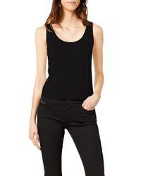 Jada Tank Top Camiseta de Tirantes Tommy Hilfiger de color Black