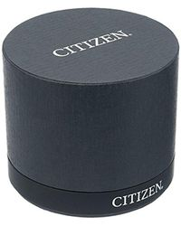 Citizen Metallic 'diamond' Quartz Stainless Steel Casual Watch, Color:silver-toned (model: Em0440-57a)