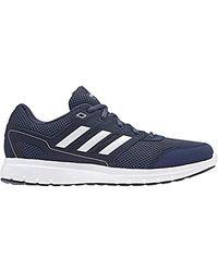 Duramo Lite 2.0, Chaussures de Running Homme, Multicolore (Noble Indigo S18/Ftwr White/Collegiate Navy Cg4048) Adidas pour homme en coloris Blue