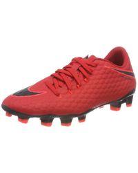 Nike Erwachsene Hypervenom Phelon Iii Fg 852556 616 Fußballschuhe in Red für Herren