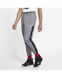 Nike Dri-fit Showtime Basketball Pants Size Xl Tall (black Heather) for men
