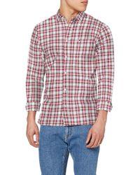 Tommy Hilfiger Multicolor Tjm Essential Check Pocket Shirt Casual for men