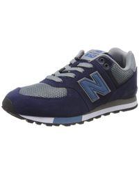 Gc574v1 New Balance pour homme en coloris Blue