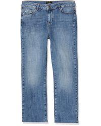 Vero Moda Blue Vmsheila Mr Kick Flare Ank J Ba3114 Noos Jeans