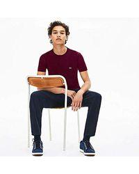 T-Shirt Lacoste pour homme en coloris Purple