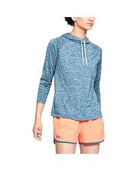 Under Armour Blue Tech Longsleeve Hoody 2.0- Twist Long Sleeve Long-sleeve Shirt