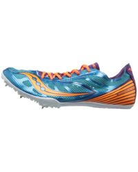 Saucony - Blue Endorphin Md4 Track Shoe for Men - Lyst