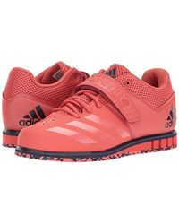 Adidas Red Powerlift.3.1 Cross Trainer, Trace Scarlet/trace Scarlet/noble Ink, 7 M Us for men