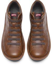 Camper Brown Beetle Fashion Sneaker for men