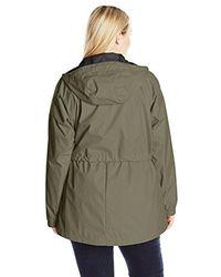 Columbia Green Arcadia Plus Size Casual Jacket