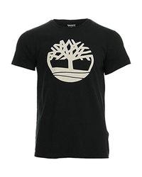 Tree, T-Shirt Uomo di Timberland in Black da Uomo