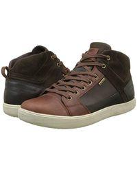 U Taiki B ABX A, Zapatillas Altas para Hombre Geox de hombre de color Brown