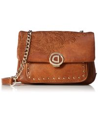 Desigual Brown Melody Zurich Mini Shoulder Bag 18 Cm