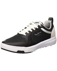 Slate Mesh Pepe Jeans pour homme en coloris Black