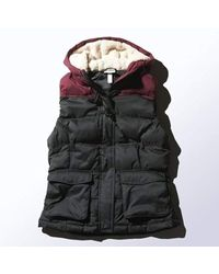 Adidas Black Sherpa Down Gilet Ladies Winter Hooded Body Warmer M32620
