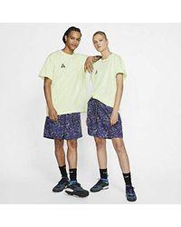 Nike Blue Acg Shorts Size M (indigo Storm) for men