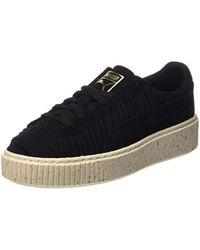 PUMA Black Basket Platform OW Sneaker