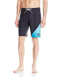 Quiksilver Blue Ag47 New Wave 20 Inch Boardshort for men