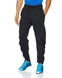 Nike Black Sportswear Tech Fleece Sports Trousers for men