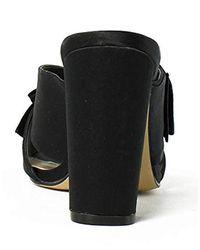 Nina Black Samina Dress Sandal