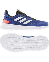 Archivo K, Chaussure de Course Mixte Adulte Adidas en coloris Blue