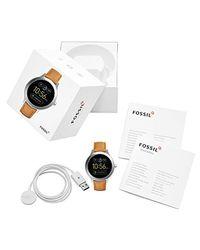 Fossil Gen 3 Q Venture Brown Leather Strap Smart Watch