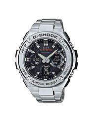 Orologio Analogico-Digitale Uomo con Cinturino in Acciaio Inox GST-W110D-1AER di G-Shock in Metallic da Uomo