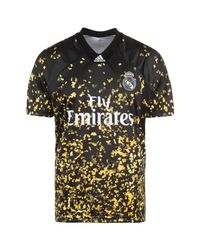 Adidas Performance Real Madrid Ea Jersey Black/gold for men