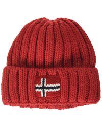 K Semiury 3 Bonnet Napapijri pour homme en coloris Red