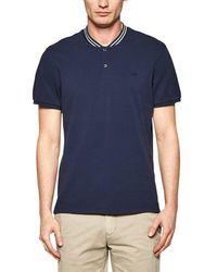 s.Oliver BLACK LABEL 1F.804.35.5356 Poloshirt in Blue für Herren