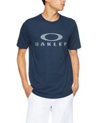 O Bark SS T-Shirt Fathom di Oakley in Blue da Uomo