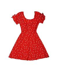 Robe Becca Rouge Paisley pour Femme Superdry en coloris Red