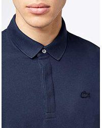 Lacoste - Blue Polo Shirt Black for Men - Lyst
