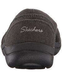 Skechers Black Lite Step Flat