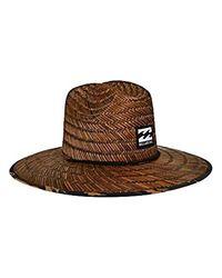 Billabong Brown Tides Hat for men