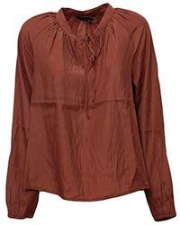 10227797 Blusa Donna Ruggine M di Vero Moda in Brown