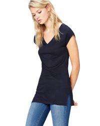 ZC-490 camisetas FIND de color Blue