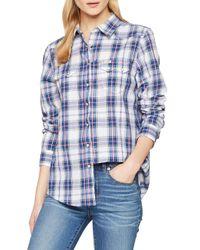 Western Shirt 100% Cotone di Lee Jeans in Blue