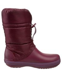 Crocband Winter Boot Testa di Moro 35 (US 4) di Crocs™ in Purple
