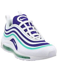 "Nike White Air Max 97 Ultra 17 SE Special Edition ""Grape"" Retro, Schuhe"