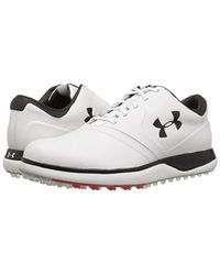 Under Armour White Ua Performance Sl Leather Golf Shoes for men