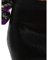 B4HUB83950338899 Gonna Donna di Versace Jeans in Black