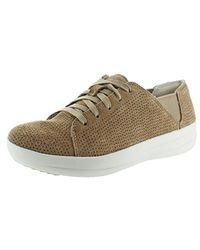 Fitflop Brown F-sporty Laceup Fashion Sneaker
