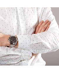 Guess Chronograph Uhr Surge in Metallic für Herren