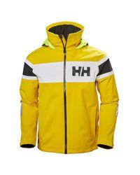 Salt Jacket Tuta Sportiva di Helly Hansen in Yellow da Uomo